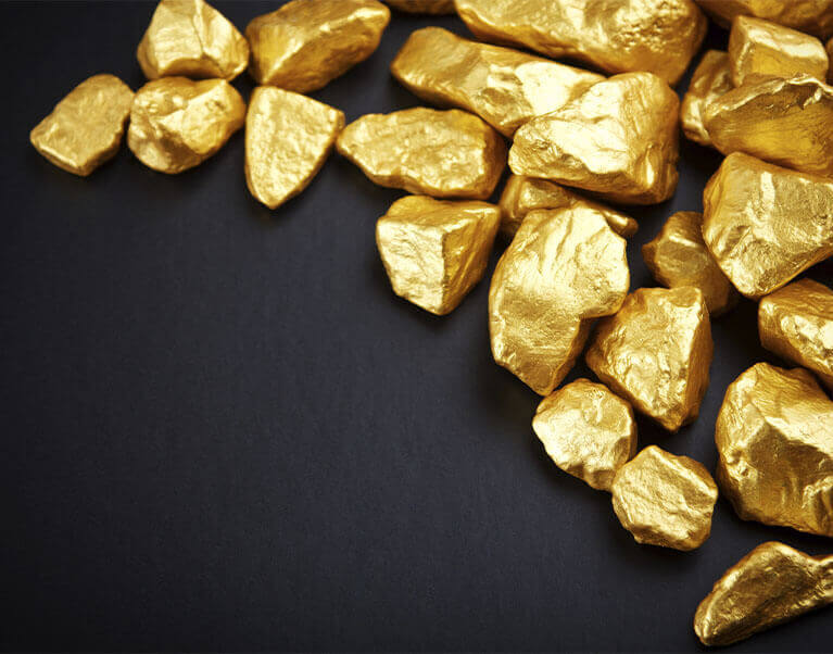 tipos de ouro teor e colorações
